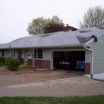 Tornado's Minor Roof Damage