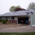 Tornado's Minor Roof Damage